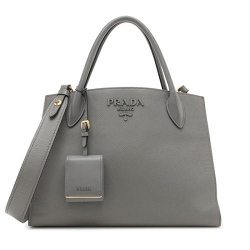 ab590e423309 ... release date prada saffiano cuir medium monochrome top handle bag 94e31  8bb0b