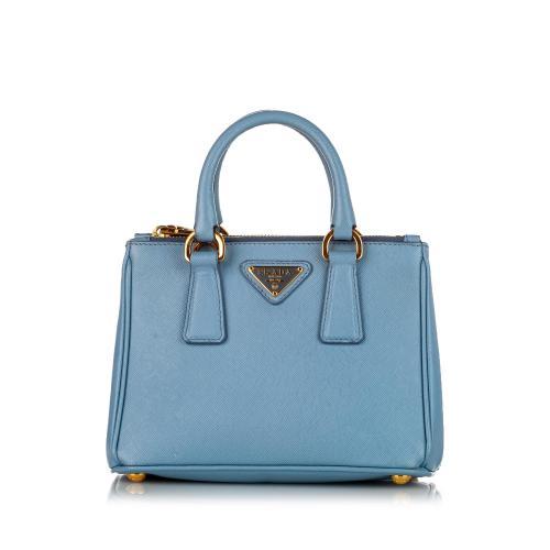 Prada Saffiano Galleria Leather Satchel