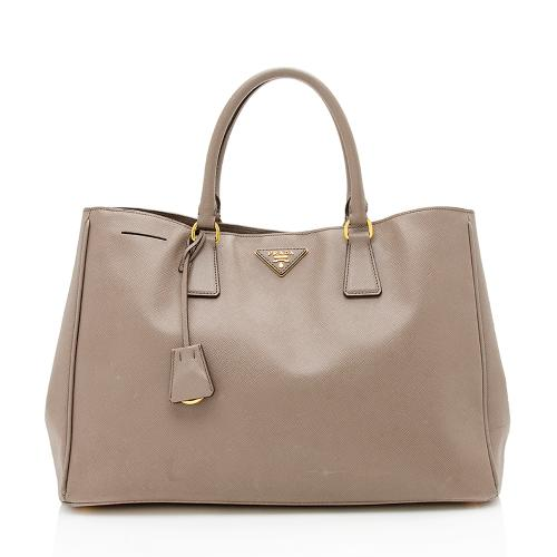 Prada Saffiano Leather Gardeners Tote