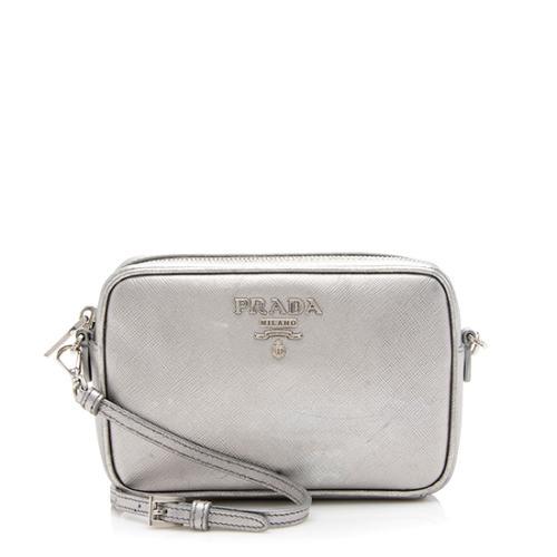 Prada Saffiano Leather Medium Camera Bag