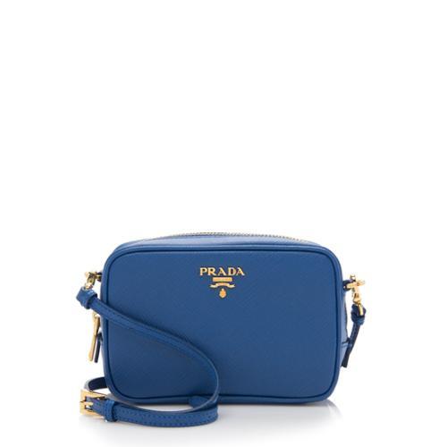 Prada Saffiano Leather Small Camera Bag