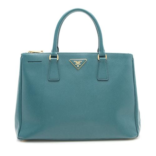 0e04ae994e14 Prada Saffiano Lux Double-Zip Medium Tote