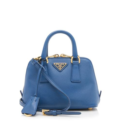 Prada Saffiano Mini Promenade Shoulder Bag
