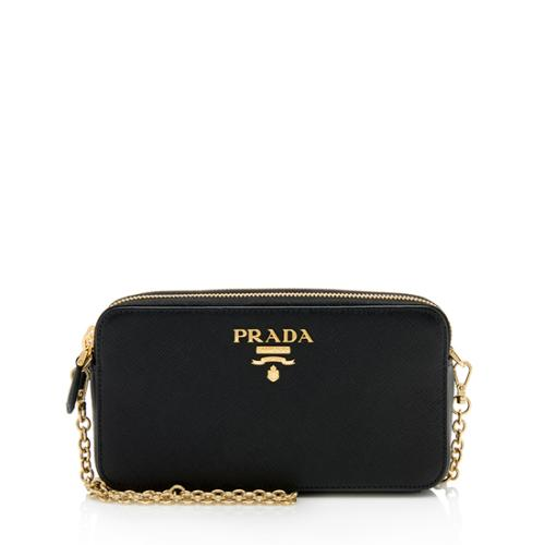 0068be237b2a Prada Saffiano Mini Shoulder Bag