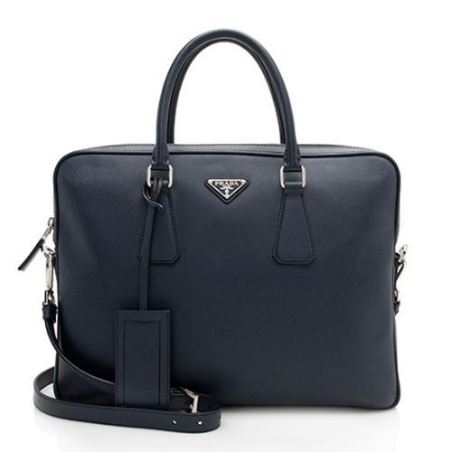 Prada Saffiano Slim Briefcase