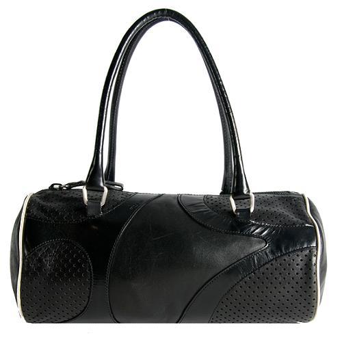Prada Saffiono Fori Satchel Handbag