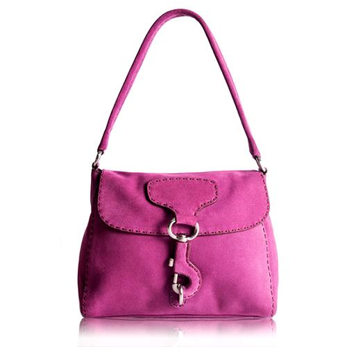 Prada Scamosciato Shoulder Handbag