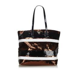 Prada Sequined Tote Bag
