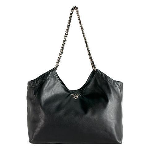 9bbf567f3f Prada-Soft-Calf-Leather-Chain-Tote 58099 front large 1.jpg