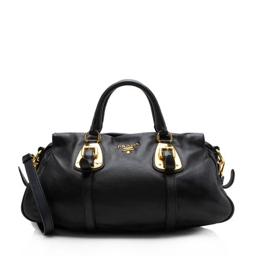 Prada Soft Calf Satchel