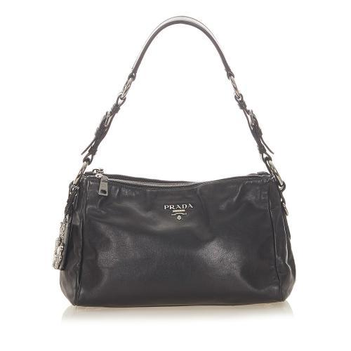 Prada Soft Calf Shoulder Bag