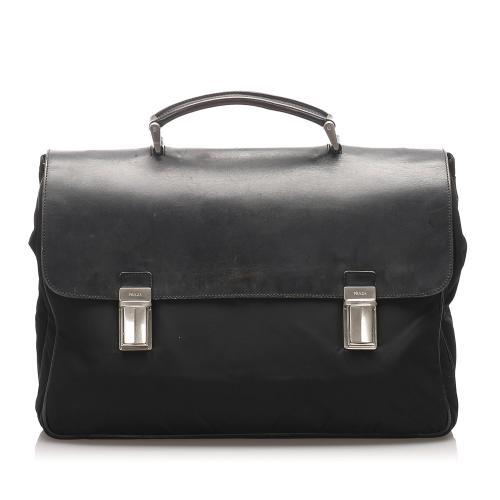 Prada Tessuto Briefcase