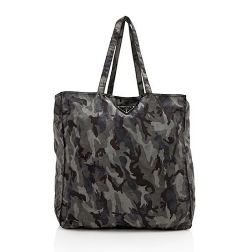 Prada Tessuto Camouflage Packable Tote