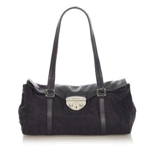 Prada Tessuto Easy Shoulder Bag