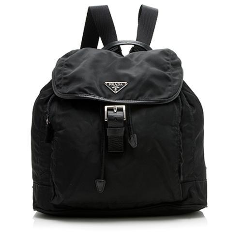 Prada Tessuto Front Pocket Backpack