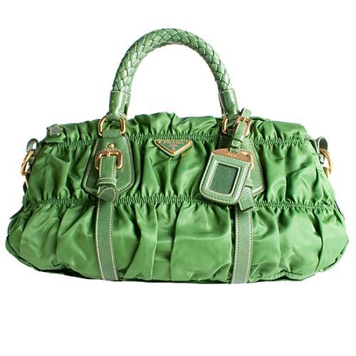 Prada Tessuto Gaufre Satchel Handbag