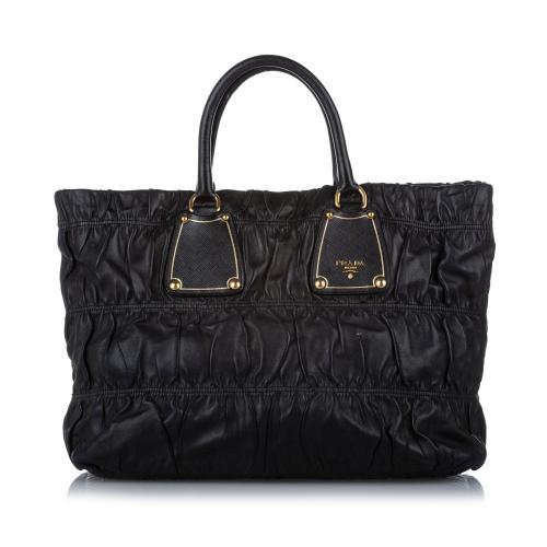 Prada Tessuto Gaufre Tote Bag