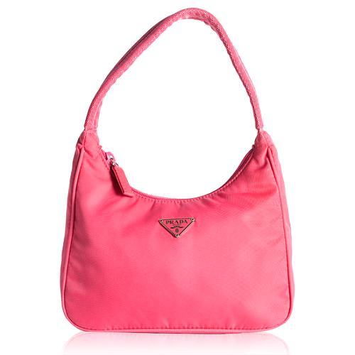Prada Tessuto Hobo Handbag