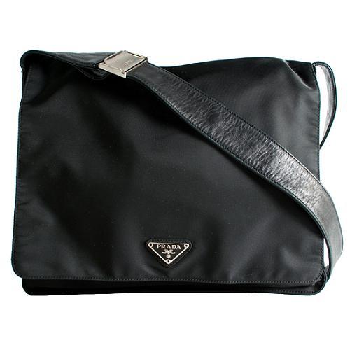 Prada Tessuto Large Messenger Bag