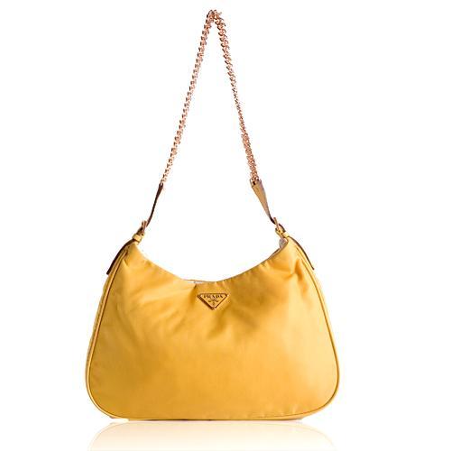 Prada Tessuto Light Shoulder Handbag