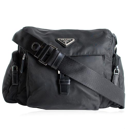 Prada Tessuto Medium Messenger Handbag