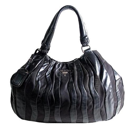 Prada Tessuto Nappa Hobo Handbag