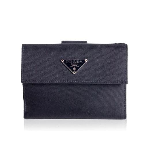 Prada Tessuto Portafoglio Wallet