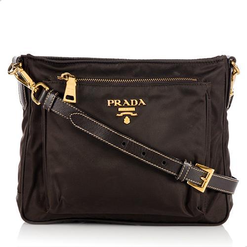 b2fd55ce43 Prada-Tessuto-Saffiano-Crossbody-Bag 63437 front large 1.jpg
