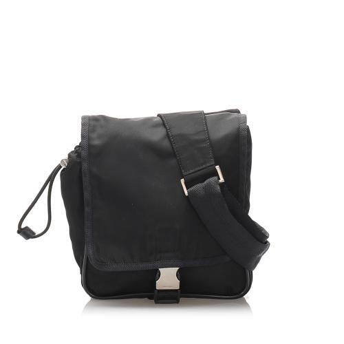 Prada Tessuto Sling Backpack