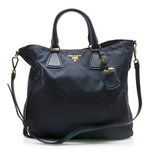 Prada Tessuto Top Handle Tote
