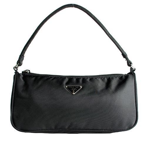 Prada Vela Pochette Shoulder Handbag