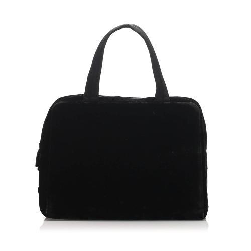 Prada Velvet Handbag