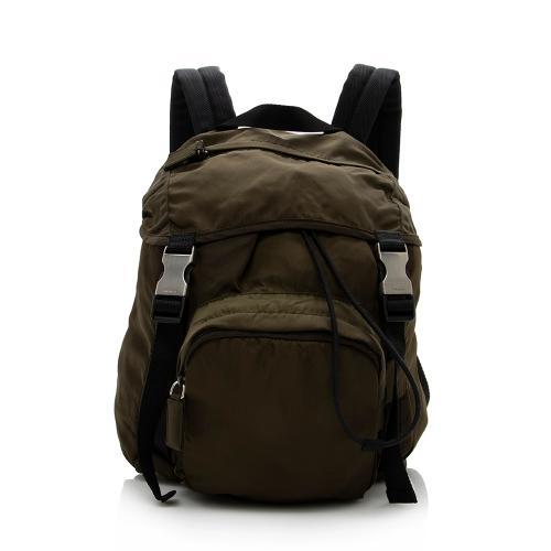 Prada Vintage Tessuto Buckle Small Backpack