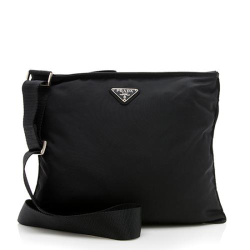 Prada Vintage Tessuto Messenger Bag