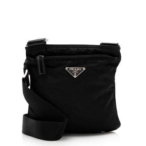 Prada Vintage Tessuto Mini Messenger Bag