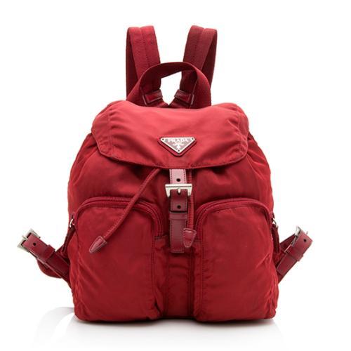 Prada Vintage Tessuto Pocket Backpack