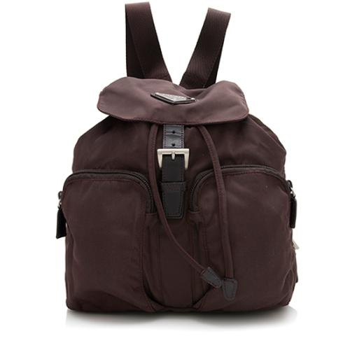 Prada Vintage Tessuto Pocket Backpack