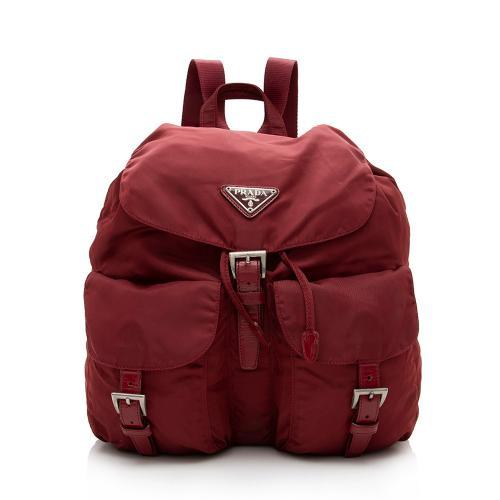 Prada Vintage Vela Double Pocket Small Backpack