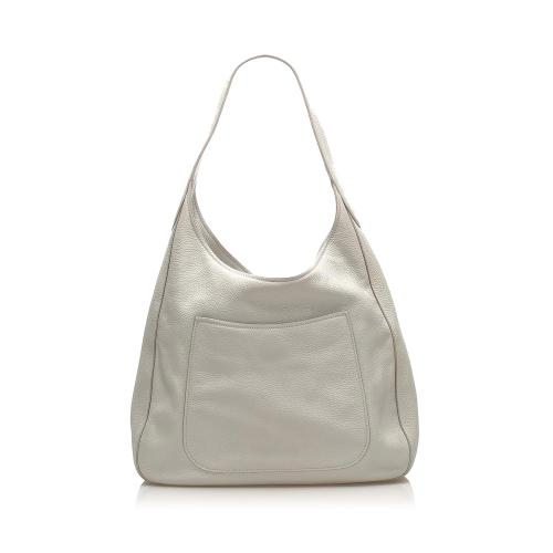 Prada Vintage Vitello Daino Leather Shoulder Bag