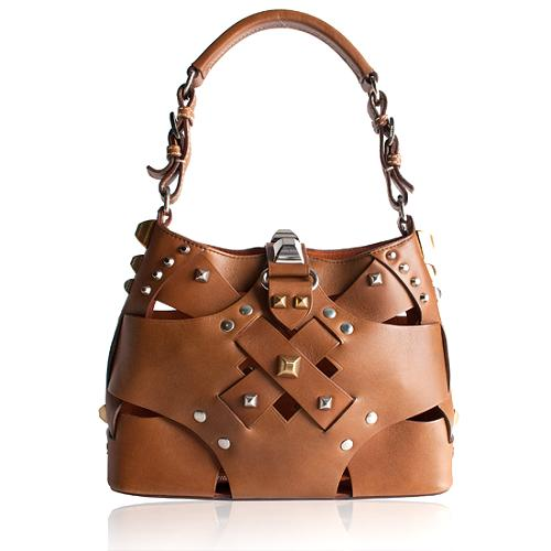 Prada Vitello Cross Shoulder Handbag