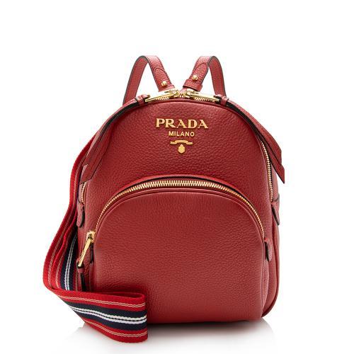 Prada Vitello Daino Backpack