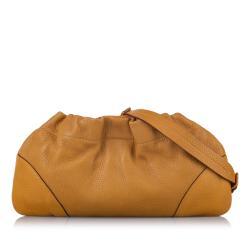 Prada Vitello Daino Chain Shoulder Bag