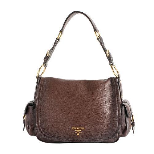Prada front flap shoulder bag Cheap Sale Genuine Pick A Best Cheap Online Shipping Discount Authentic lyAzT7VKw