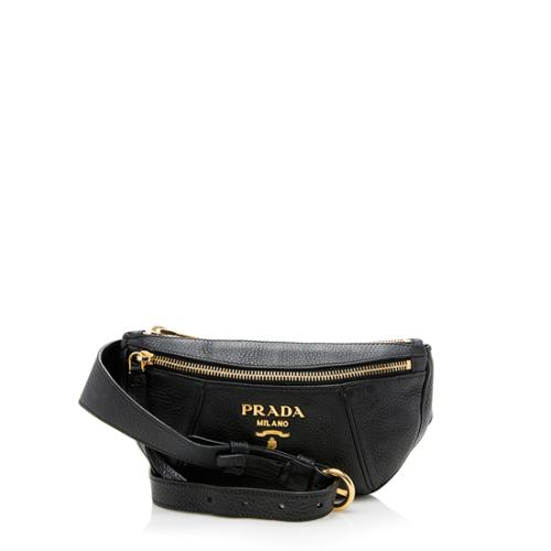 Prada Vitello Daino Leather Belt Bag