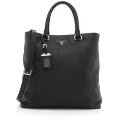 Prada Vitello Daino Leather Shopping Tote