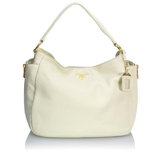 Prada Vitello Daino Shoulder Handbag
