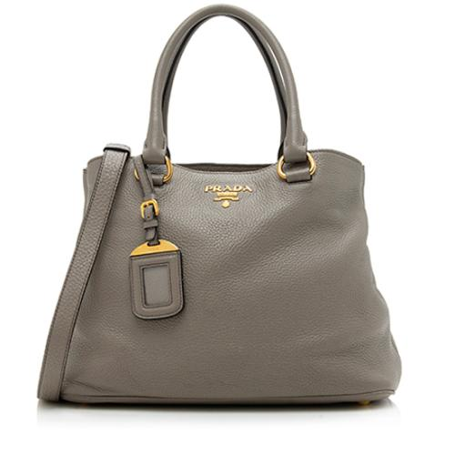 Prada Vitello Daino Small Tote