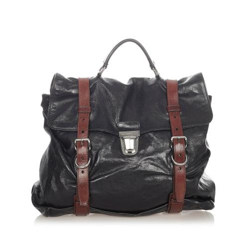 Prada Vitello Lux Handbag