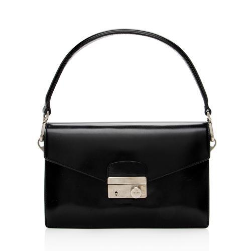 Prada Vitello Lux Sound Shoulder Bag