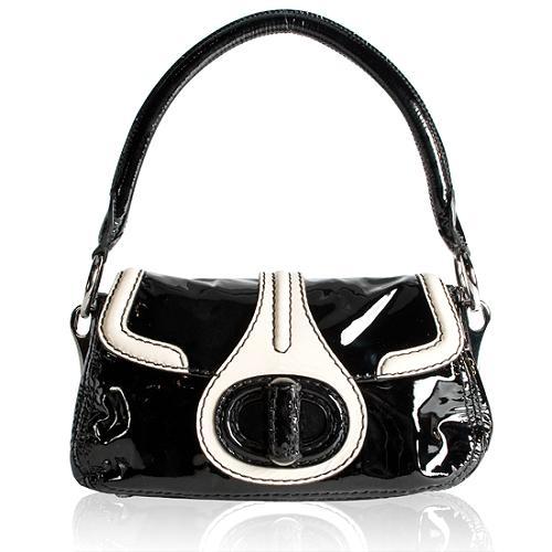 Prada Vitello Shine Shoulder Handbag